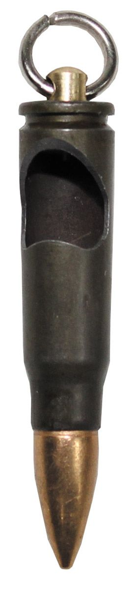 """Image of Anhänger-Patrone, """"AK-47"""", Messing, mit Flaschenöffner"""