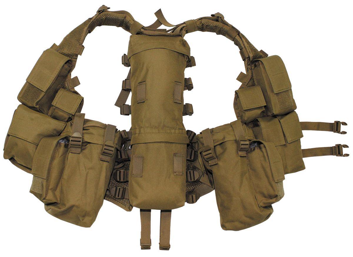 Image of Tactical Weste, div. Taschen, coyote tan
