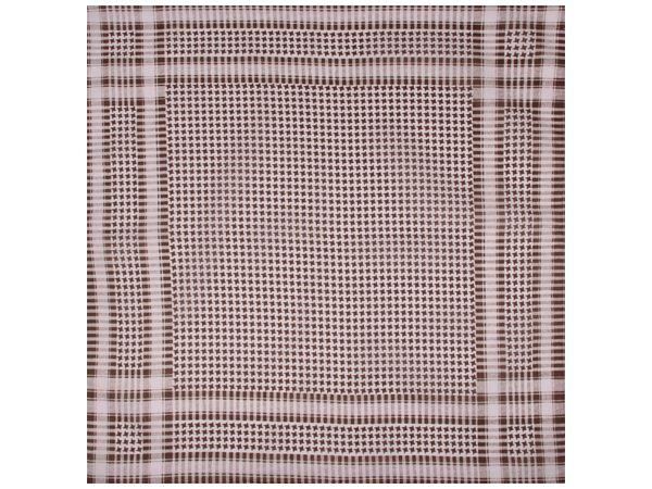 Image of Bandana, beige gepunktet, Gr. 55 x 55 cm, Baumwolle