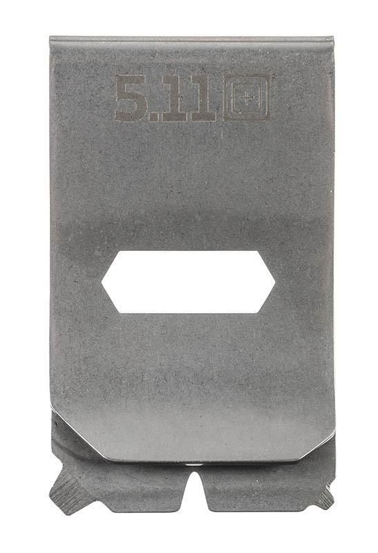 Image of 5.11 Tactical Series - Multitool Money Clip tumbled steel