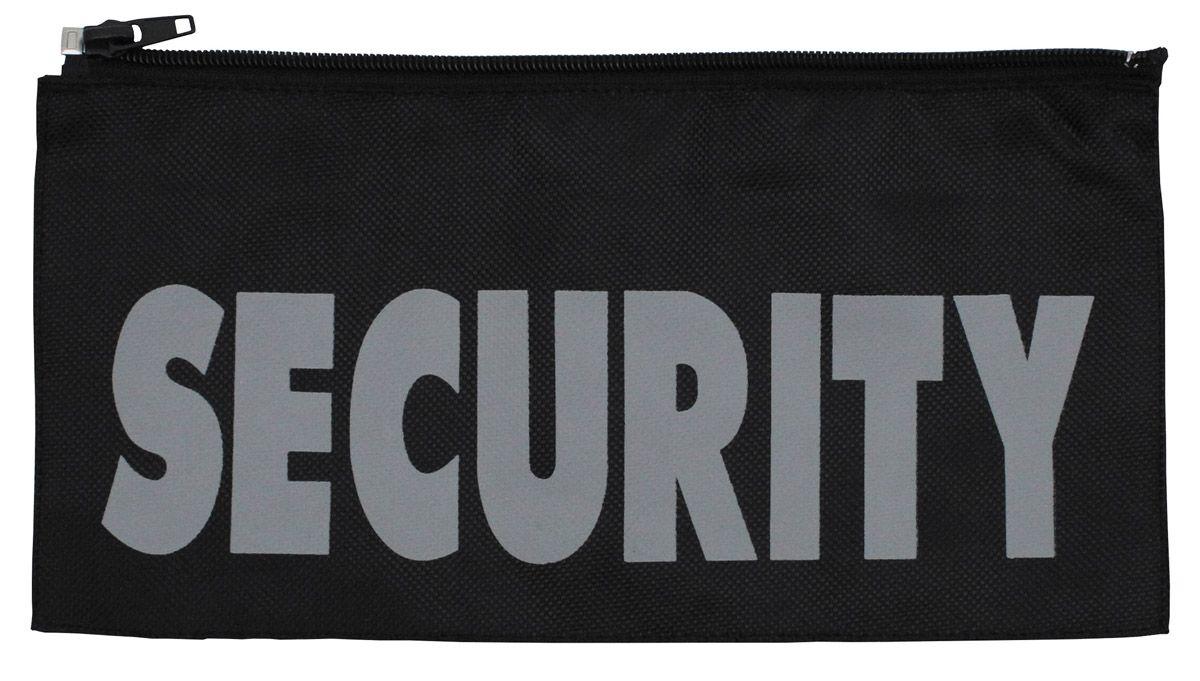 """Image of Abzeichen, """"Security"""", gross 27 x 13 cm, mit Reissverschluss"""