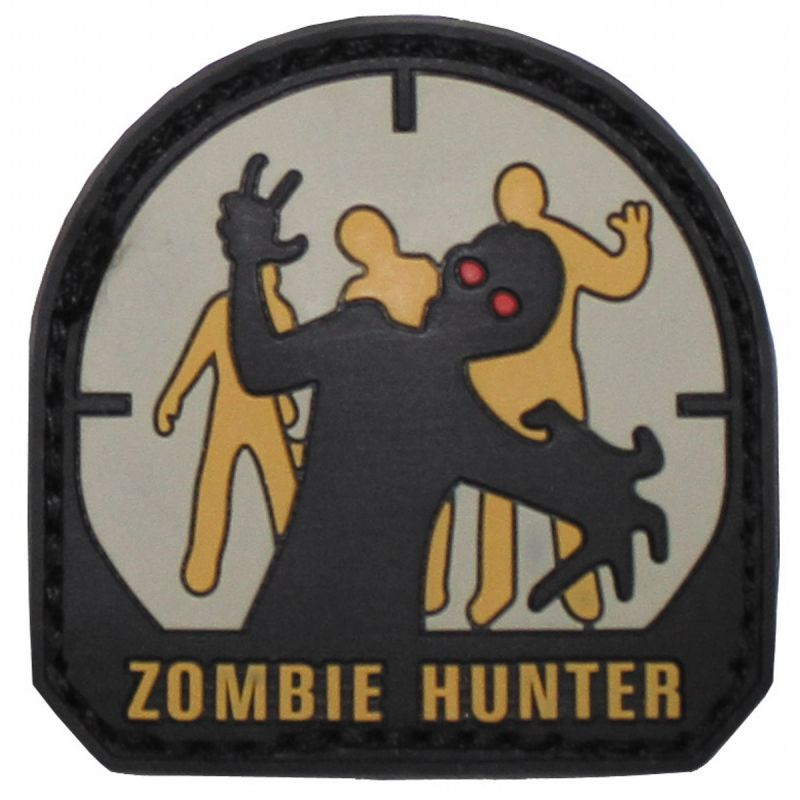 """Image of Abzeichen, 3D, """"Zombie Hunter"""""""