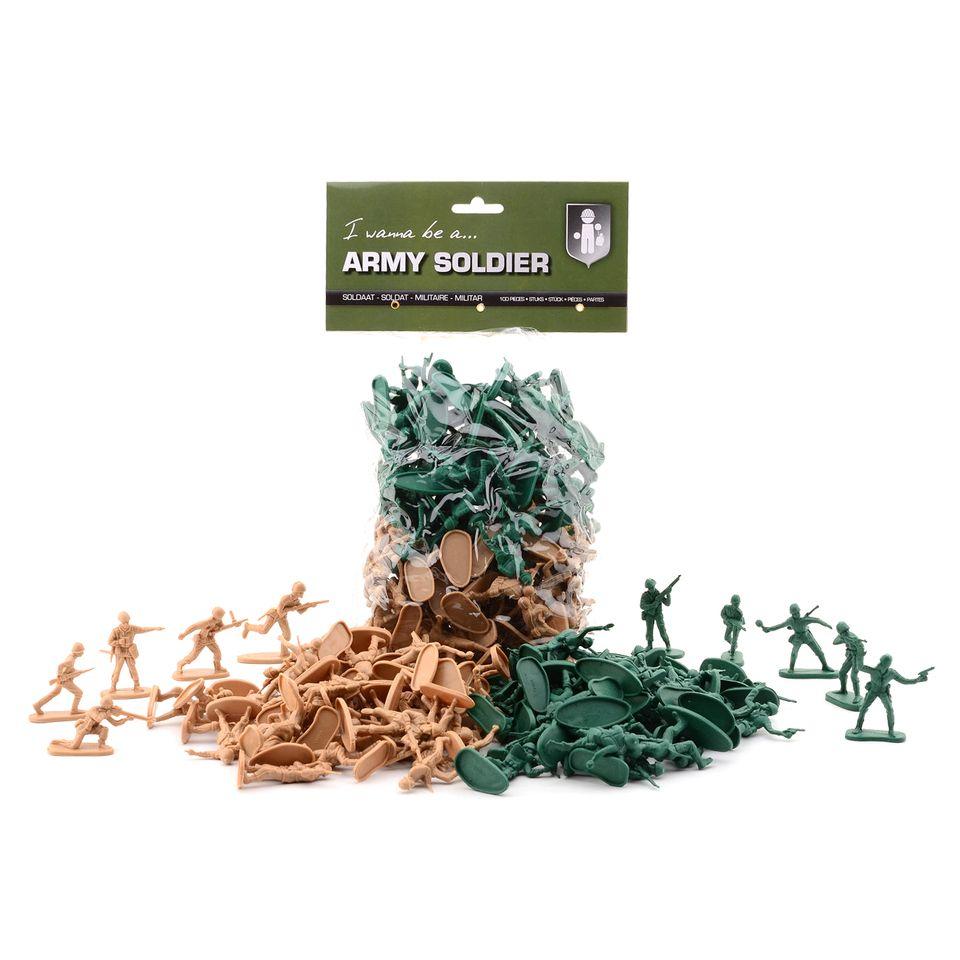 Image of Army Soldier - 100 Soldaten Spielfiguren